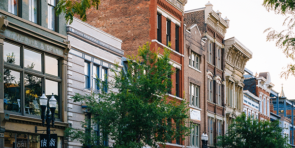 Historic brick houses in Cincinnati, Ohio | Cities With the Best and Worst Interest Rates