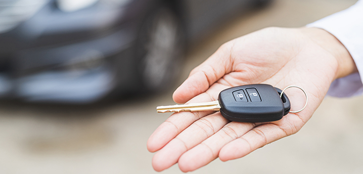 getting out of a car loan and handing over keys
